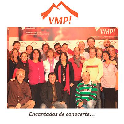 Imagen de un grupo de afiliados y simpatizantes de VMP!