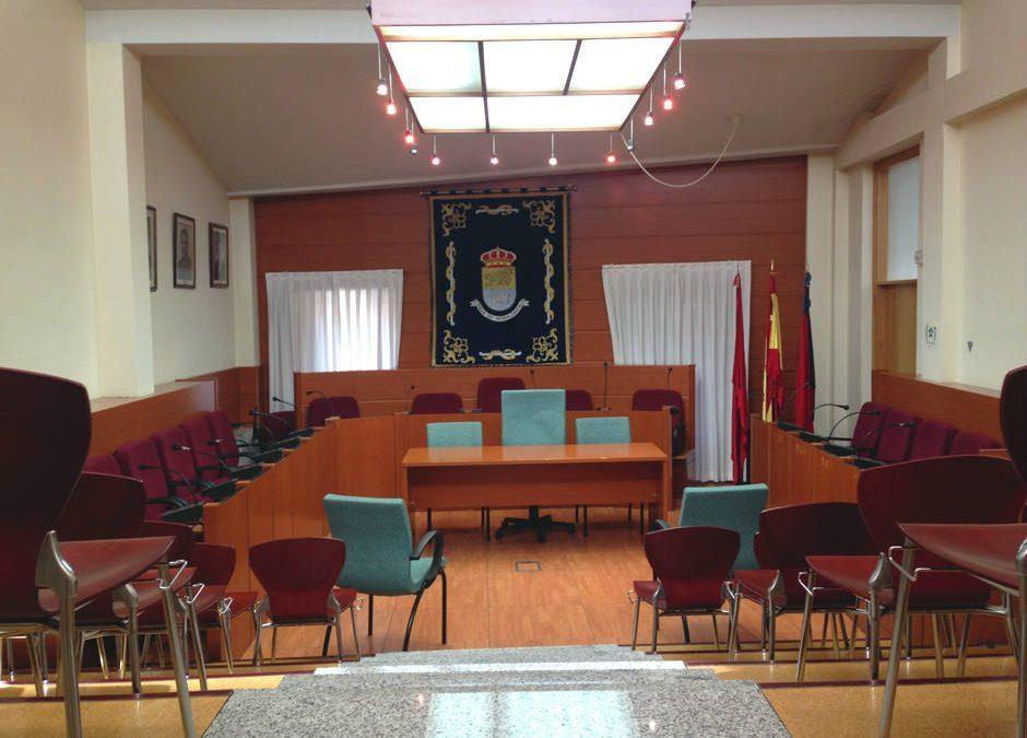 Pleno municipal del 2 de noviembre de 2017