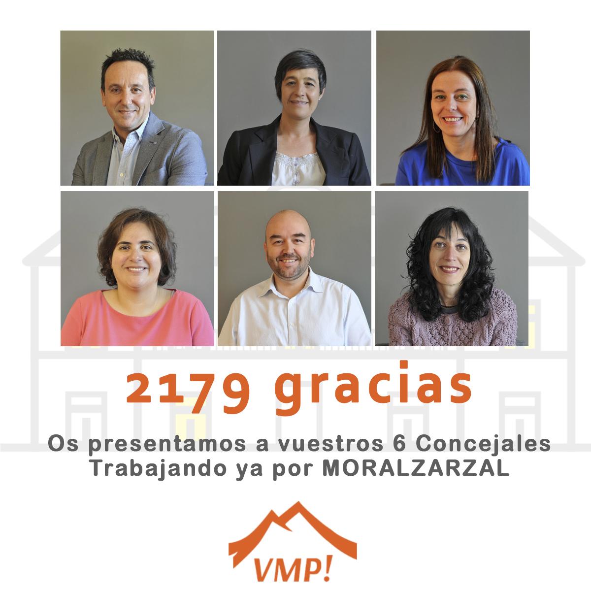 Concejales electos VXMP