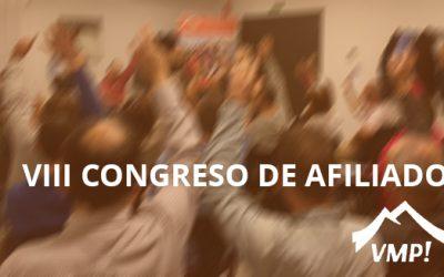 VIII Congreso de afiliados de VMP!
