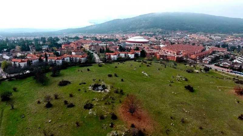 Vista aérea de la Dehesa de Moralzarzal